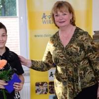 Meisterehrung Sport des Landkreises Greiz: Lucas Hanke wird geehrt