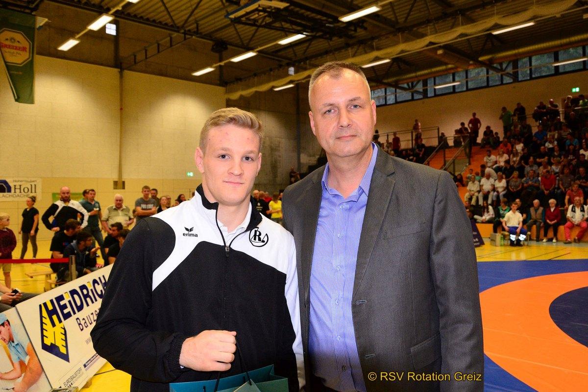 RSV Rotation Greiz: Joel Wrensch möchte Meisterschaftsmedaille verteidigen