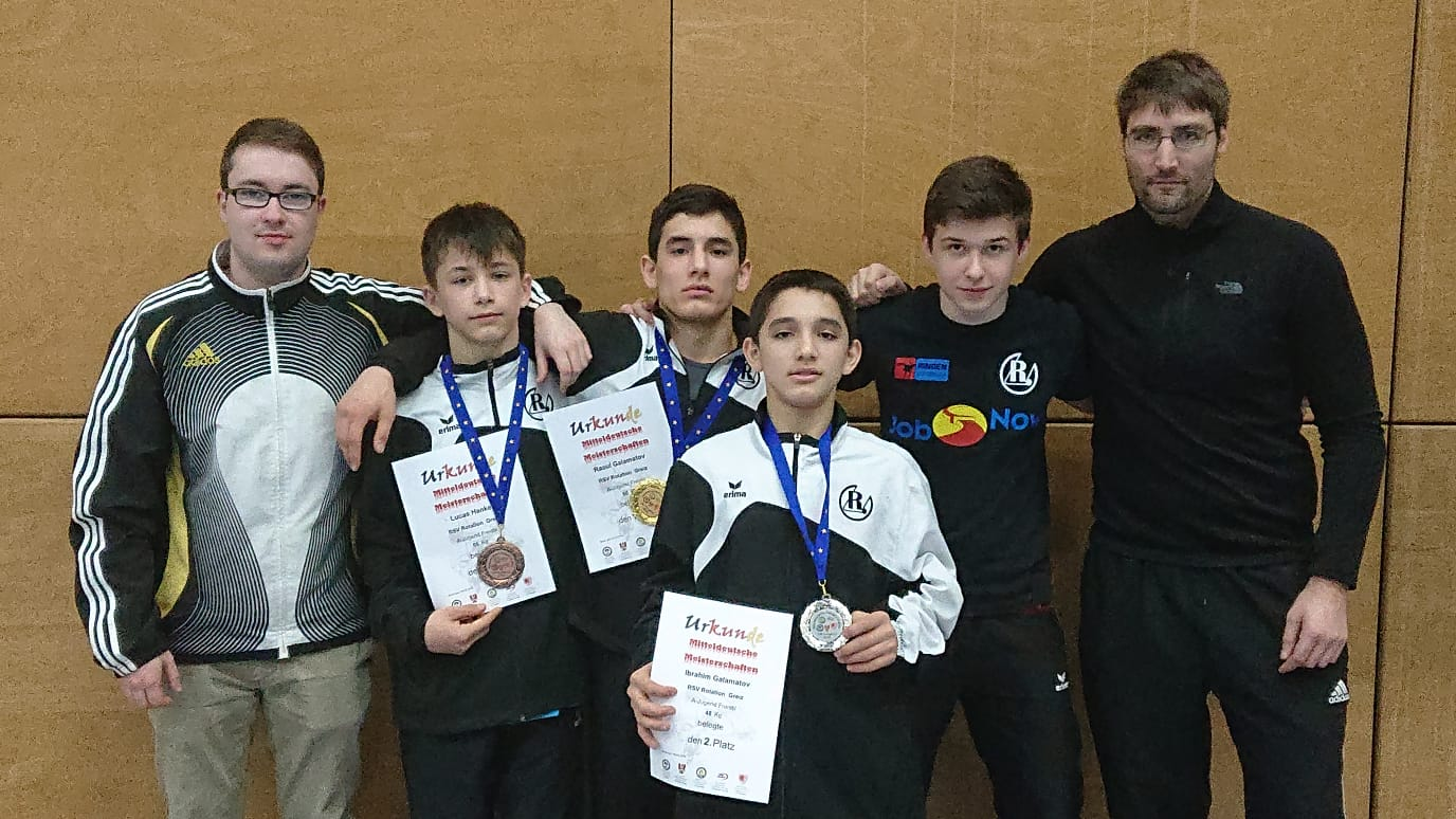 Drei Medaillen für Greiz bei mitteldeutschen Meisterschaften