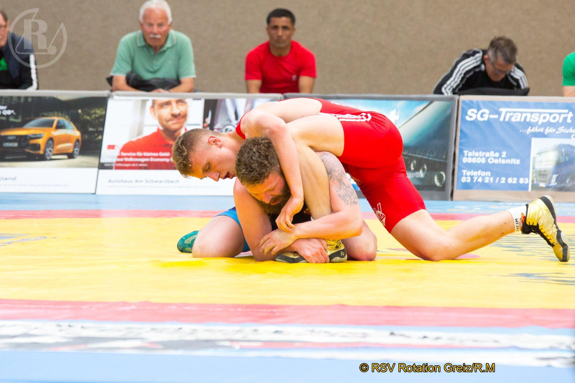 Offene Mitteldeutsche Meisterschaften der Männer in Markneukirchen