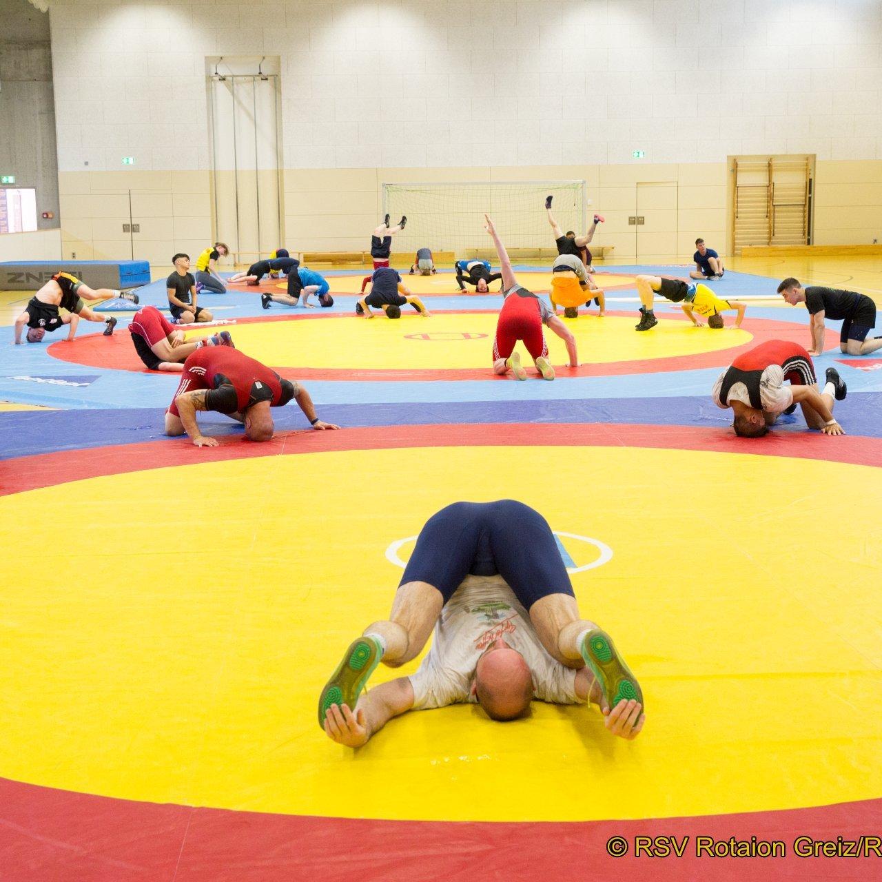 Viele Trainingseinheiten mussten die Sportler absolvieren. Die Vorbereitung auf die Saison läuft.