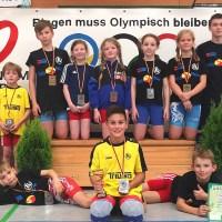 Acht Medaillen für Greizer Nachwuchsringer in Braunsbedra