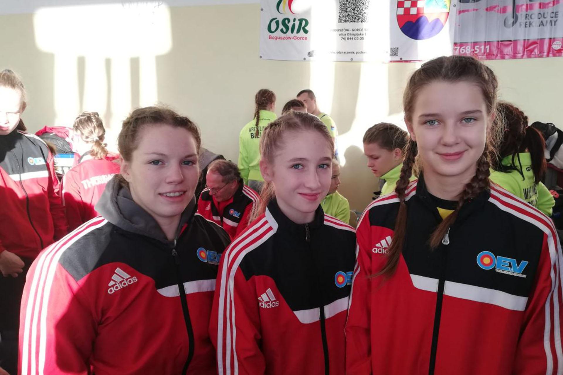 HEROS Lady Open 2019 in Czarny Bór Polen vom 29.11.-01.12.2019