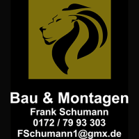 Vorstellung Neusponsor  Montagen Frank Schumann