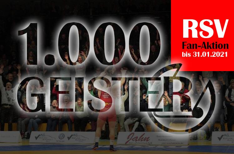 1000 Geister beim RSV