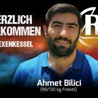 Ahmet Bilici kämpft in der kommenden Saison für den Ringer-Bundesligisten RSVRotation Greiz.