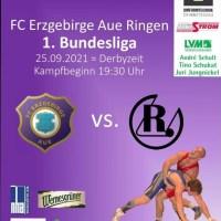 FC Erzgebirge Aue gegen RSV Rotation Greiz