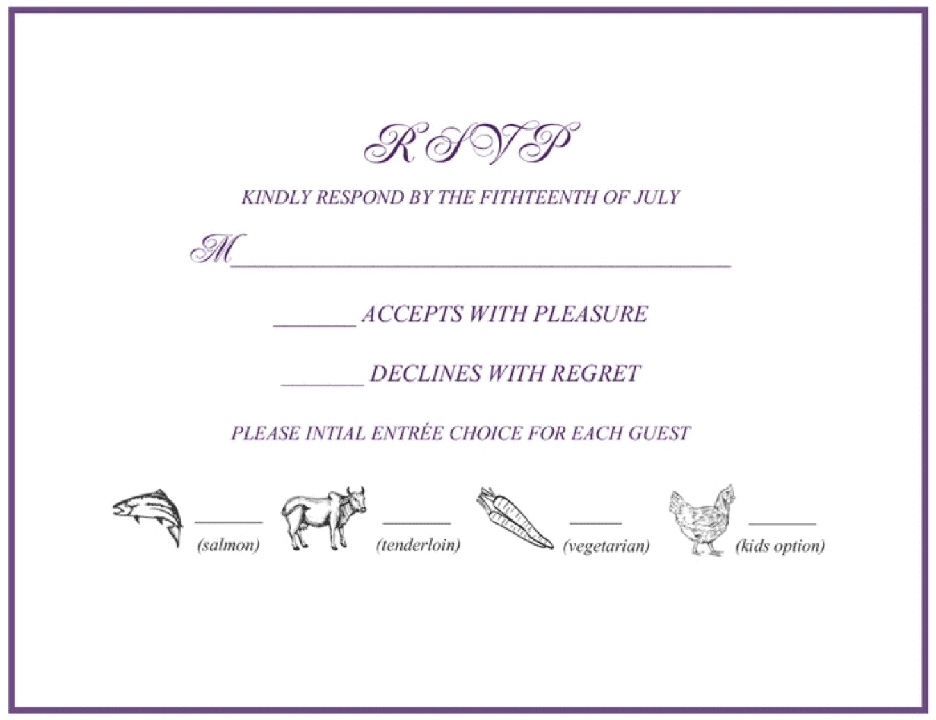 How To Fill Out A Wedding Rsvp.Rsvp 101 How To Rsvp To A Wedding Or Event Rsvpify