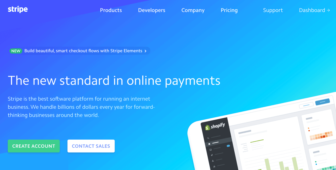 To sell tickets online with Stripe, first sign up for a free Stripe account
