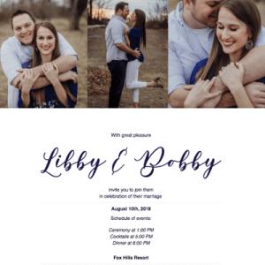 Online Wedding RSVP Design