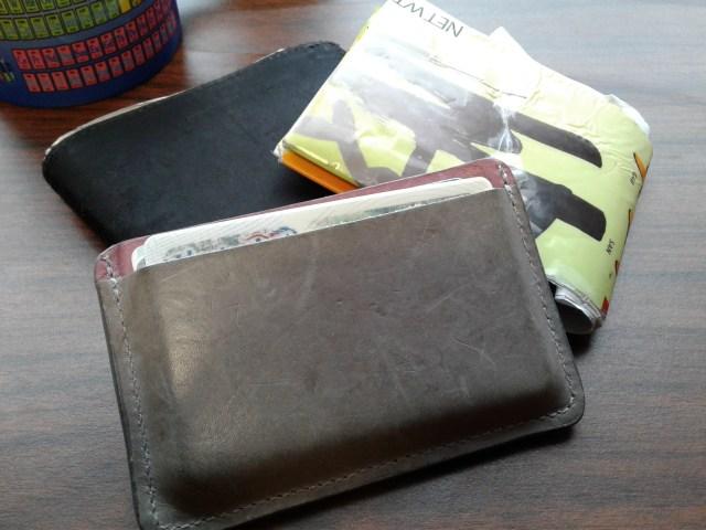 three wallets