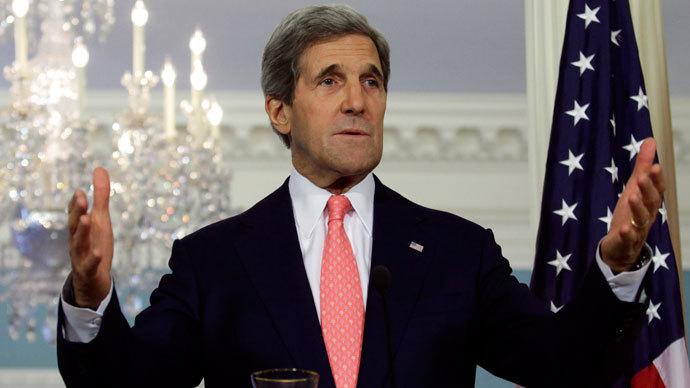 U.S. Secretary of State John Kerry.(Reuters / Yuri Gripas)