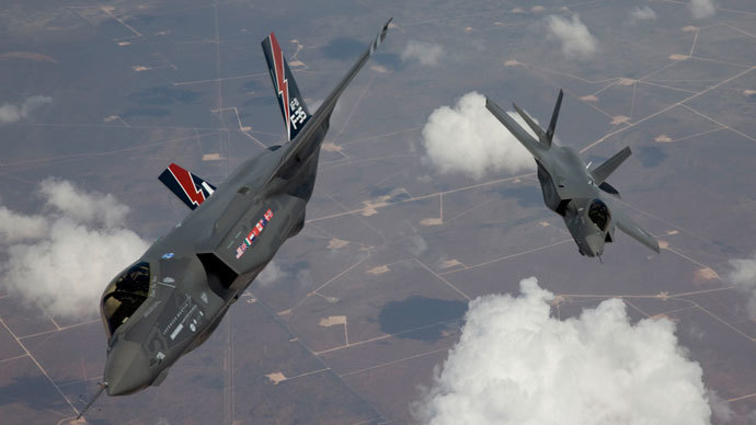 The F-35 Lightning II, also known as the Joint Strike Fighter (JSF).(Reuters / Tom Reynolds)