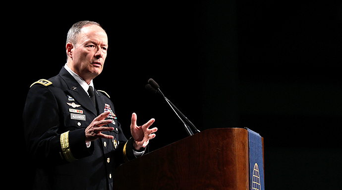 NSA Director Gen. Keith Alexander (AFP Photo / Win Mcnamee)