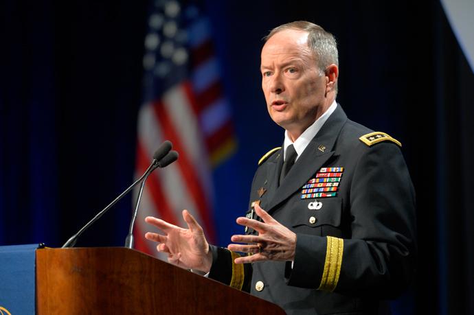 National Security Agency Director Gen. Keith Alexander (Reuters / Doug Kapustin)