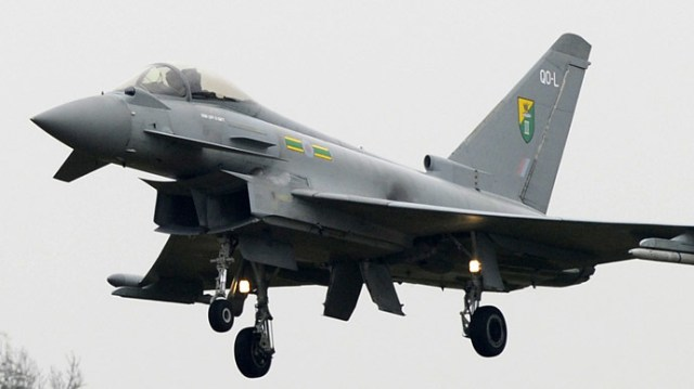 A Typhoon jet (Reuters/Paul Hackett)
