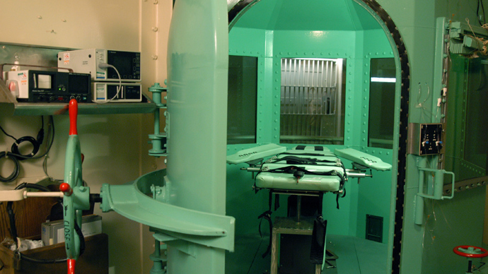 San Quentin Prison execution chamber, US (AFP Photo)