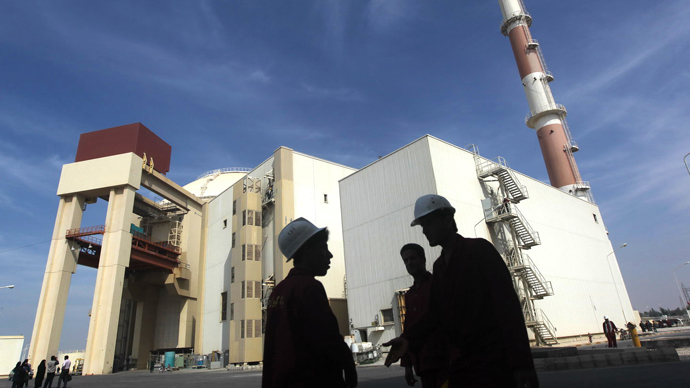 Bushehr nuclear power plant in southern Iran (AFP Photo)