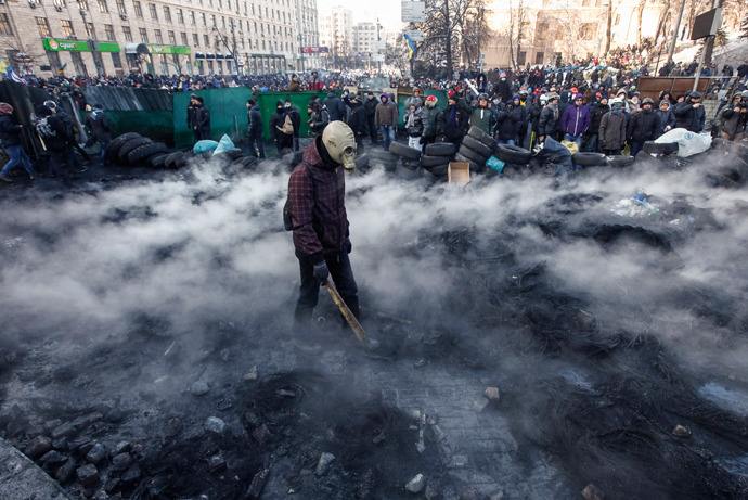 January 23, 2014 (Reuters / Vasily Fedosenko)