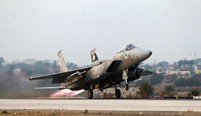An Israeli air force F15-E fighter jet.(Reuters / Baz Ratner)