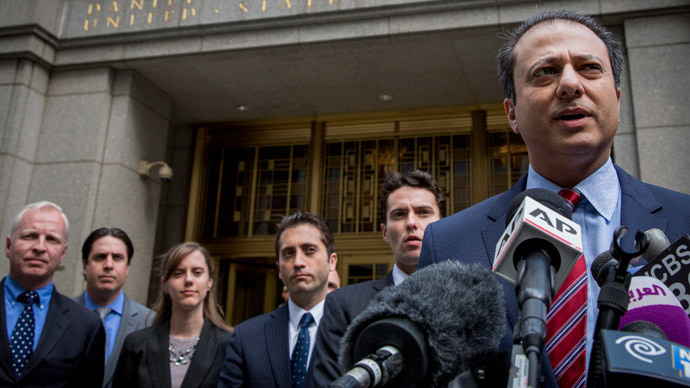 U.S. Attorney for the Southern District of New York Preet Bharara.(Reuters / Brendan McDermid )