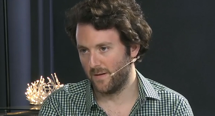 Michael Weiss, editor-in-chief of the Interpreter (Screenshot from youtube.com)
