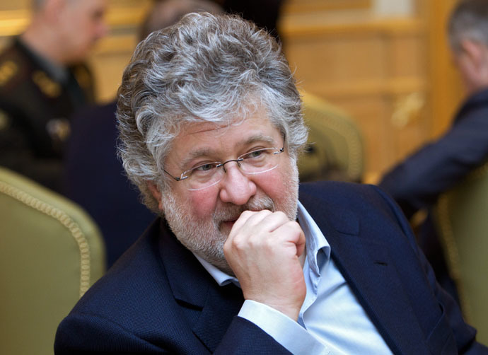 Igor Kolomoysky, Head of the Dnepropetrovsk Region (RIA Novosti/Mikhail Markiv)