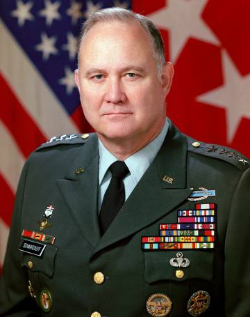 El general Schwarzkopf.
