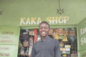 David Jackson, propietario de la tienda Kaka Shop.