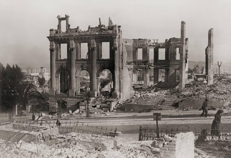 Terremoto en San Francisco en 1906