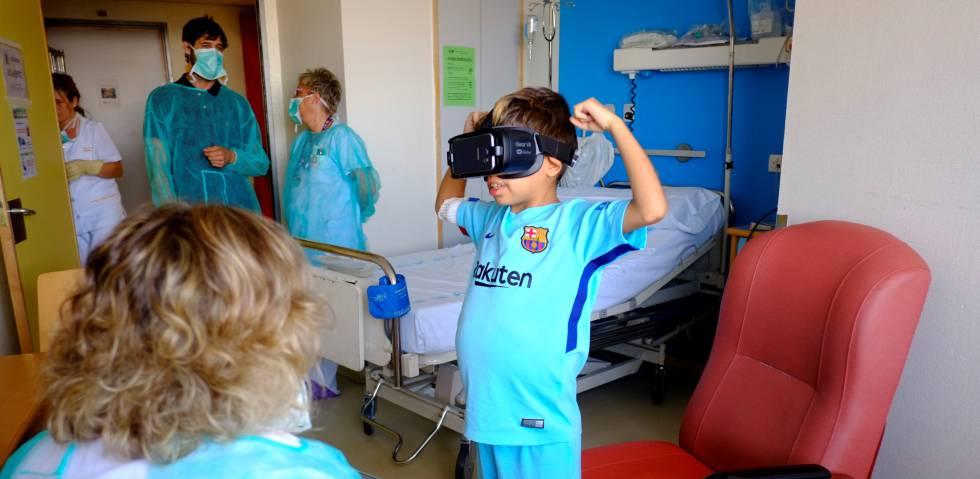 Realidad virtual, una nueva aliada en los trasplantes hepáticos para niños