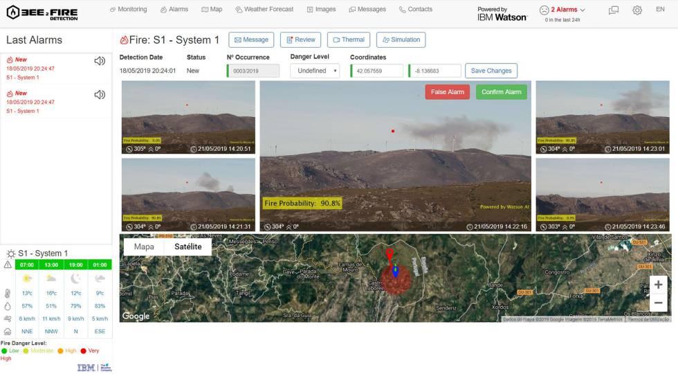 Captura de pantalla de cómo funciona el software de Compta.