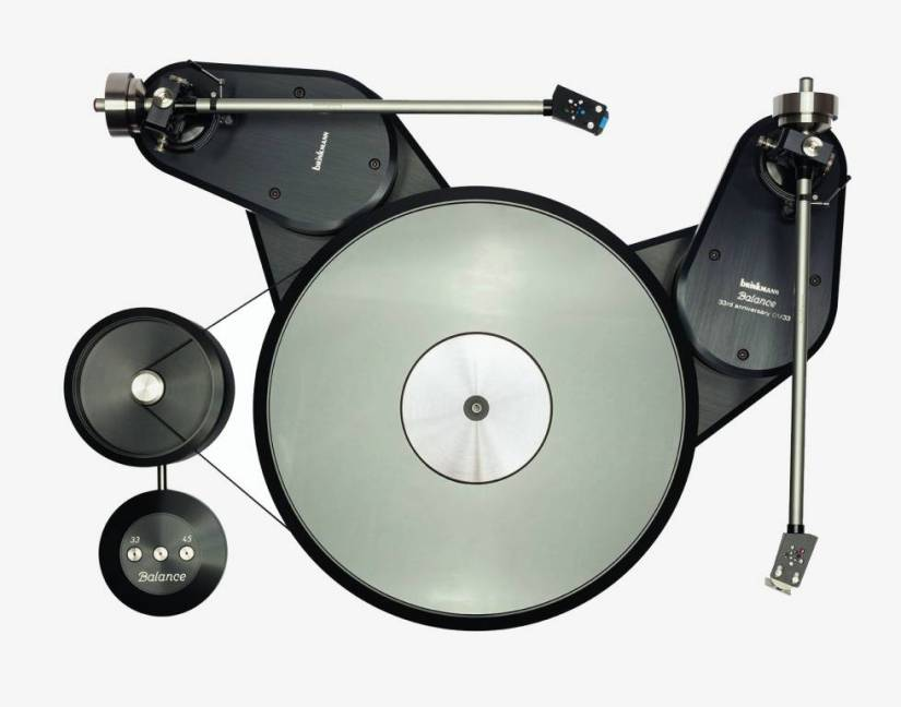 Brinkmann's Balance Belt-Drive Turntable turntable went on sale in 1985 and was reissued in 2018.