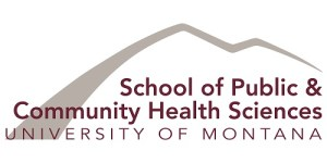 University of Montana School of public & Community health sciences logo