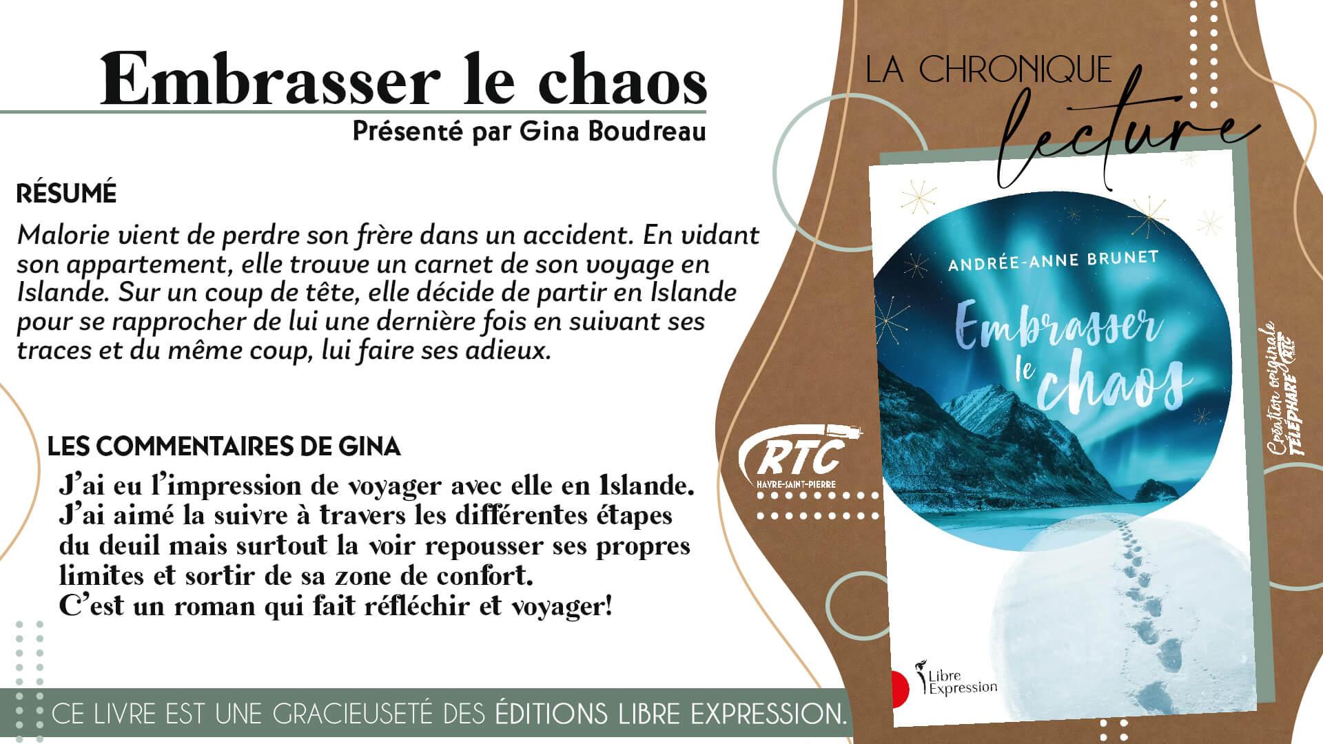 Chronique-Lecture-2021-Gina-Boudreau-Embrasser-le-chaos-13-au-19-avril-2021