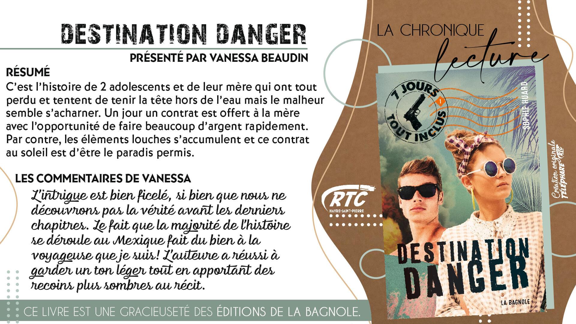 Chronique-Lecture-2021-Vanessa-Beaudin-Destination-Danger