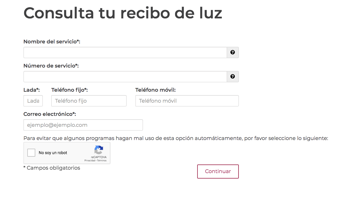 CFE RECIBO DE LUZ | COMO PAGAR EN LINEA CFE