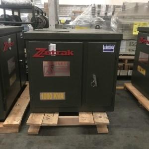 Transformador Zetrak 1000 KVA Trifasico 13200v 220/127