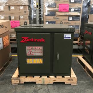 Transformador Pedestal Zetrak 45 KVA Trifasico 13200v 220/127