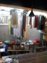 Viel Platz zum Aufhängen der Wäsche im Eight Elephants Hostel