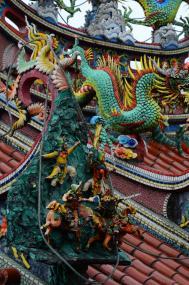 Tempel mit Schutzgöttern