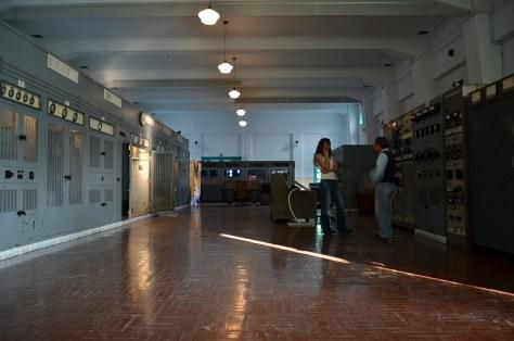 Les anciens boitiers de l'époque japonaise se trouvent dans la salle principale du premier étage. Du sacré matériel pour sûr !