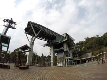 La station Zhinan des Gondoles de Maokong