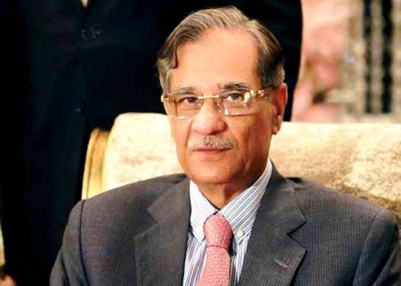 Image result for chief justice saqib nisar