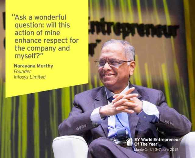Murthy at EY Awards