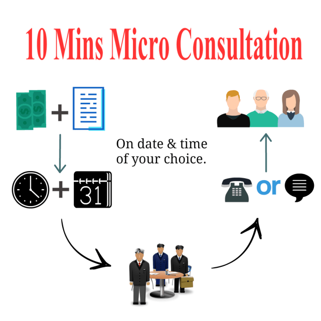 10 mins RTI or Legal Micro Consultation by RTIwala Services