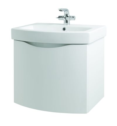 Kalos 600mm Wall Hung Unit - Gloss White (Unit Only)