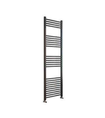 Sorento 300x1200 Flat Black Towel Rail