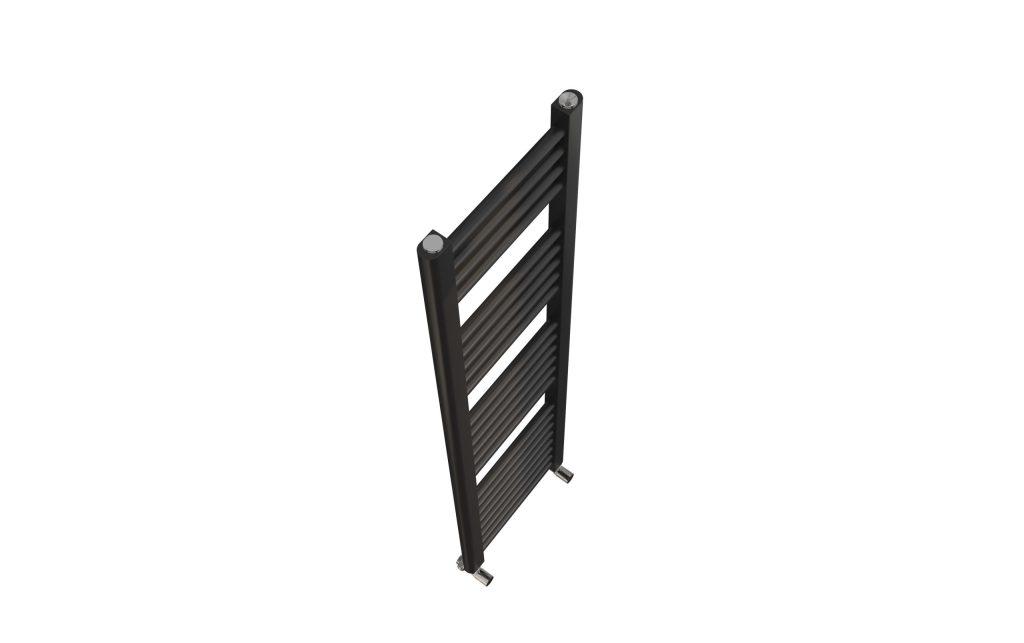Sorento 500x1200 Flat Black Towel Rail