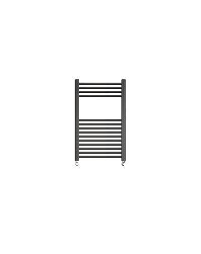 Sorento 500x800 Flat Black Towel Rail